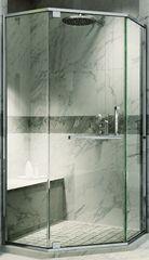 Душевая ширма Adema Safier (тонированное стекло)