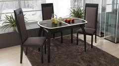 Обеденный стол Обеденный стол ТриЯ Ницца 2 раздвижной на деревянных ножках