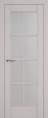 Межкомнатная дверь Раздвижные двери ProfilDoors 101X Пекан белый стекло матовое