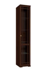 Глазовская мебельная фабрика Sherlock 131 для посуды правый (орех шоколадный)
