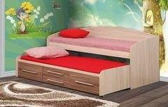 Детская кровать Детская кровать Олмеко Адель-5 (ясень шимо темный/ясень шимо светлый)