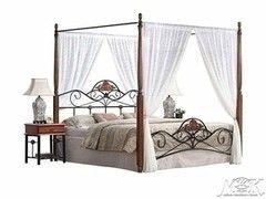 Кровать Кованая кровать M&K MK-1924-RO