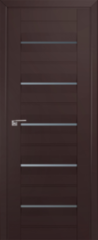 Межкомнатная дверь Межкомнатная дверь Profil Doors 48U Темно-коричневый (графит)