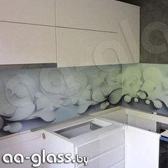 Скинали AA-Glass Скинали 5 из закаленного стекла 6мм + фотопечать (УФ-запекание)