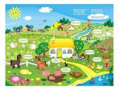 Детский стол Фея Досуг 101 Веселая ферма