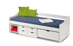 Детская кровать Детская кровать Halmar Floro 2 (белый)