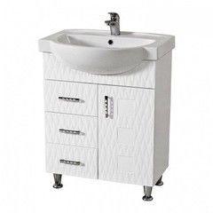 Мебель для ванной комнаты Аква Родос Тумба с умывальником Ассоль 65