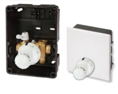 Комплектующие для систем водоснабжения и отопления Meibes Регyлировочный короб RTL-A Standard с наружным термоэлементом (F11828)  без расходомера