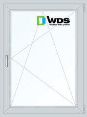 Окно ПВХ Окно ПВХ WDS 800*1100 2К-СП, 5К-П, П/О