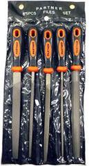 Столярный и слесарный инструмент Partner Набор напильников Partner PA-5056 5 предметов