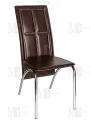 Кухонный стул Metsteklo PU-7311 коричневый
