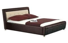 Кровать Кровать Halmar Samanta P (коричнево-бежевый)