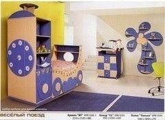 Детская комната Детская комната Калинковичский мебельный комбинат Веселый поезд