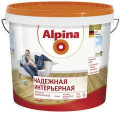 Краска Краска Alpina Надежная интерьерная 10 л