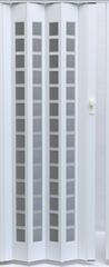 Межкомнатная дверь Дверь-гармошка Pioneer Сильвер белый дуб ДО
