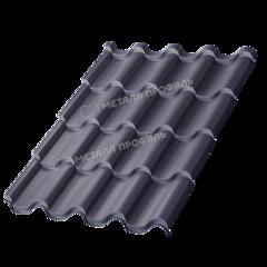 Металлочерепица Металлочерепица МеталлПрофиль Монтерроса-SL 0.5 мм (Purman, RAL7024)