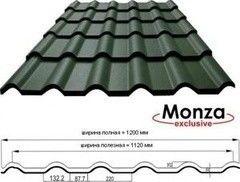 Металлочерепица Glinmet Monza Exclusive