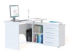 Письменный стол Сокол-Мебель КСТ-109П (белый)