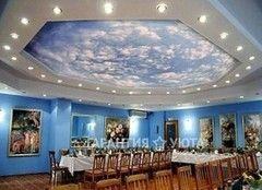 Натяжной потолок Гарантия уюта Вариант 8 (тканевый)