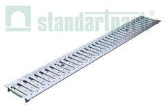 Ливневая канализация Standartpark Решетка водоприемная Basic РВ-10.14.100-К-штампованная стальная оцинкованная 20101