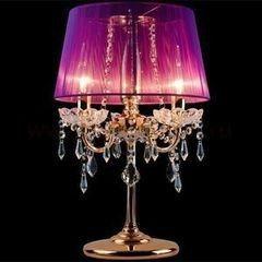 Настольный светильник Евросвет 2045/3T розовый/золото