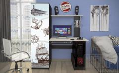 Письменный стол Интерьер-Центр КС-001 (венге/дуб беленый)