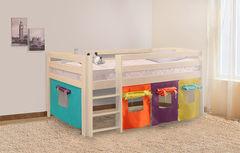 Двухъярусная кровать Боровичи-мебель Массив (выбеленная береза)