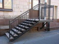 Металлическая лестница Rollvorota.by Пример 1