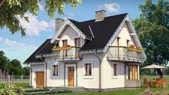Строительство из газосиликатных блоков LIGHT HOUSE Проект дома 104