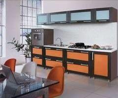 Кухня Кухня ЗОВ Техно 1 (каштан)