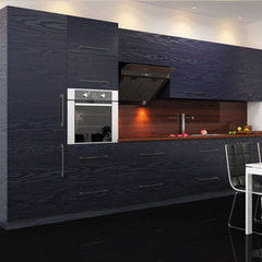 Кухня Кухня AA-Glass Пример 43 (ЛДСП Cleaf)