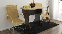 Обеденный стол Обеденный стол ТриЯ на деревянных ножках Турин 2