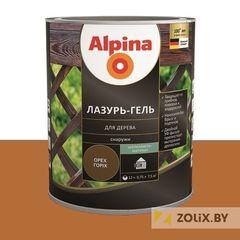 Защитный состав Защитный состав Alpina Лазурь-гель для дерева тик (2,5 л)