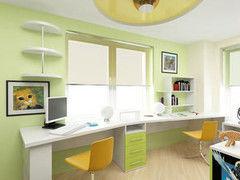 Детский стол VMM Krynichka двухместный для подростковой комнаты (модель 1)