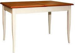 Обеденный стол Обеденный стол Пинскдрев Альт П490.23 (слоновая кость + рустикаль)