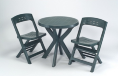 Ipae-progarden s.p.a. BISTRO SET GREEN BIS018VE