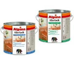 Лак Лак Alpina Klarlack 2,5l