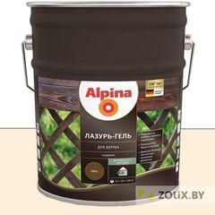 Защитный состав Защитный состав Alpina Лазурь-гель для дерева белый (10 л)