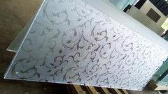 Стекло Стекло Valtera Каленое 6 мм с пескоструйным рисунком