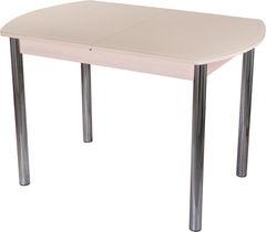 Обеденный стол Обеденный стол Домотека Гамма ПО (МД ст-КР 02) 80x120(157)x75