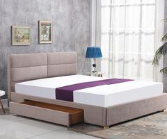 Кровать Кровать Halmar Merida 160 (бежевый)