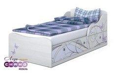 Детская кровать Детская кровать Сканд Мебель Леди-3 (кр)