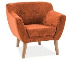 Кресло Кресло Signal Bergen 1 (оранжевый)