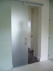 Стеклянная дверь Будас-плюс Пример 1