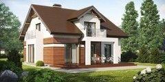 Строительство домов Дом с мансардой ИП Сопин А.В. Пример 50
