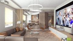 Дизайн квартир и коттеджей Maze Studio Проект 17