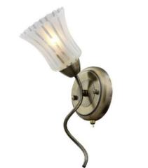 Настенный светильник IDlamp Nanzen 245/1A-Oldbronze