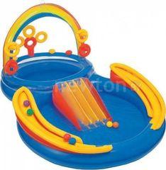 Бассейн Бассейн Intex Надувной бассейн  Intex Rainbow Ring Play Center 297x193x135 57453