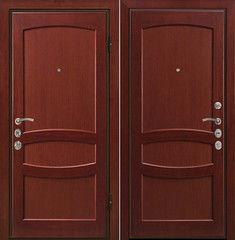 Входная дверь Входная деревянная дверь МеталЮр Валенсия