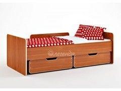 Детская кровать Детская кровать Легенда 14 с ящиками (ольха)